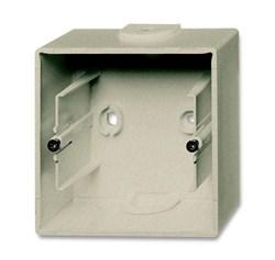 Коробка для открытого монтажа, 1-постовая, серия Basic 55, цвет шампань - фото 110177