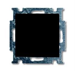Механизм 1-клавишного, 1-полюсного перекрестного переключателя с клавишей, серия Basic 55, цвет ch?teau-black - фото 110208