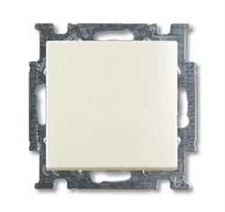 Механизм 1-клавишного, 1-полюсного перекрестного переключателя с клавишей, серия Basic 55, цвет альпийский белый - фото 110229