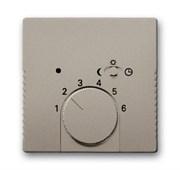 Плата центральная (накладка) для механизма терморегулятора 1095 U/UF-507, 1096 U, серия Basic 55, цвет шампань
