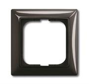 Рамка 1-постовая, серия Basic 55, цвет ch?teau-black