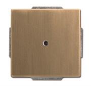 Плата центральная с суппортом, для вывода кабеля, с компенсатором натяжения кабеля, серия Династия, Латунь античная