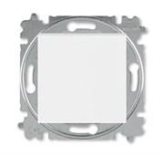Переключатель перекрёстный одноклавишный ABB Levit белый / ледяной