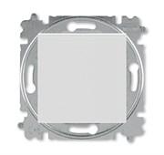 Переключатель перекрёстный одноклавишный ABB Levit серый / белый