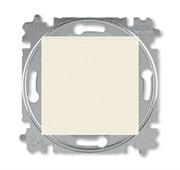 Переключатель перекрёстный одноклавишный ABB Levit слоновая кость / белый
