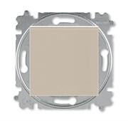 Переключатель перекрёстный одноклавишный ABB Levit кофе макиато / белый