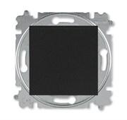 Переключатель перекрёстный одноклавишный ABB Levit антрацит / дымчатый чёрный