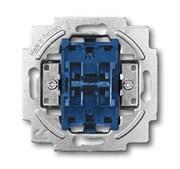 Механизм 2-клавишного переключателя, 10А 250В, серия Future/Axcent/Carat/Династия/Allwetter/Busch-Duro/Reflex SI