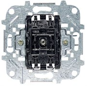 Механизм 1-клавишного выключателя, 1-полюсного, с лампой контрольной подсветки, 10А/250В